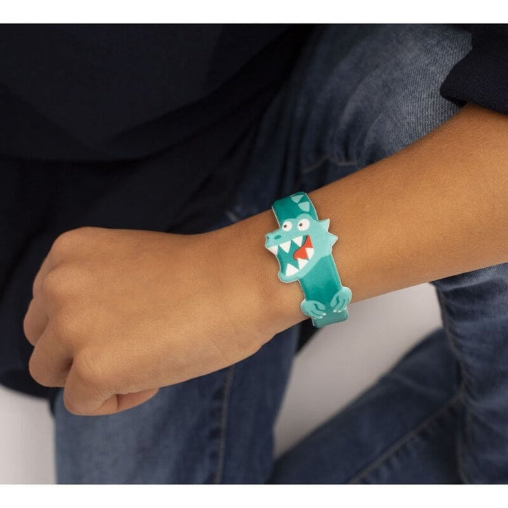 OMY DESIGN & PLAY - SuperBuddy bracelet for kids - Dinosaur scene