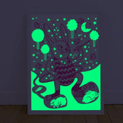 OMY DESIGN & PLAY - Glow in the dark poster - Bunny - Scene