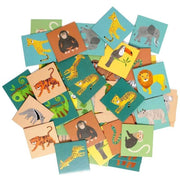 PETIT MONKEY - Memory game - Jungle Animals - Cards