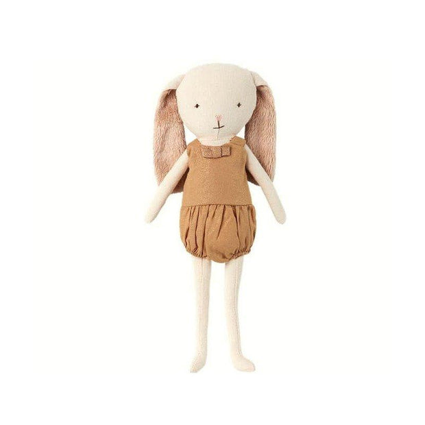 MAILEG - Bunny bell doll gold
