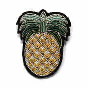 MACON & LESQUOY - Hand embroidered brooch - Pineapple