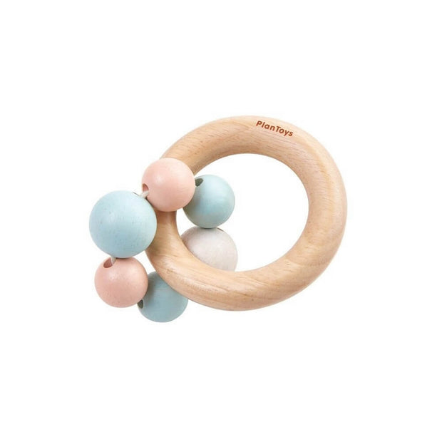PLAN TOYS - Wooden baby rattle