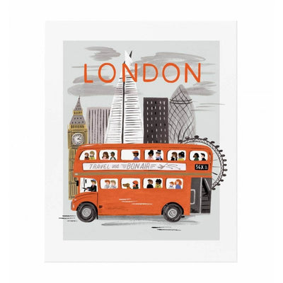 RIFLE PAPER CO - London World poster