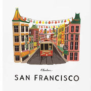 RIFLE PAPER CO - San Francisco poster - Details