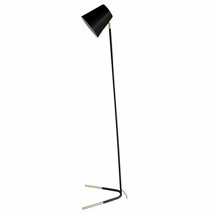 PRESENT TIME - Floor Lamp Noble - black