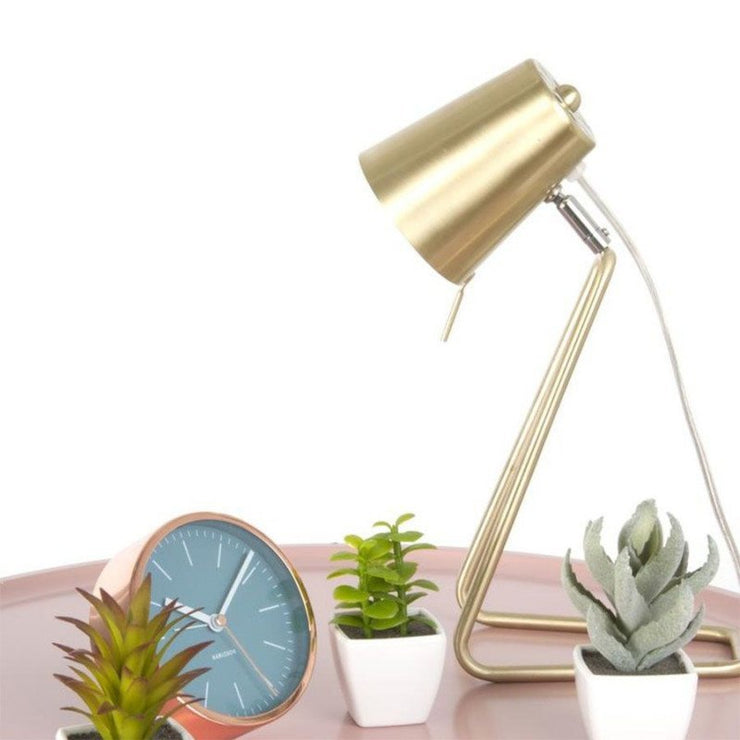 PRESENT TIME - Z table lamp - Gold - Scene