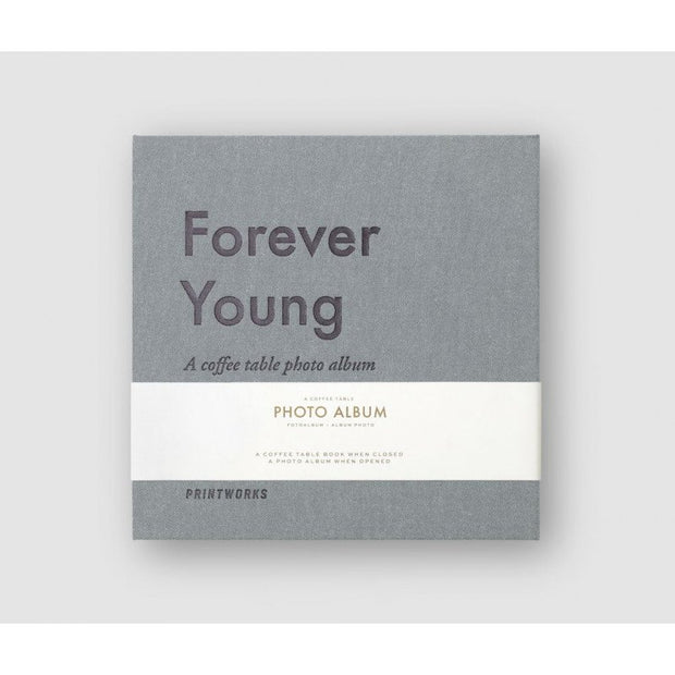 PRINTWORKS - Coffee table photo album - Forever Young