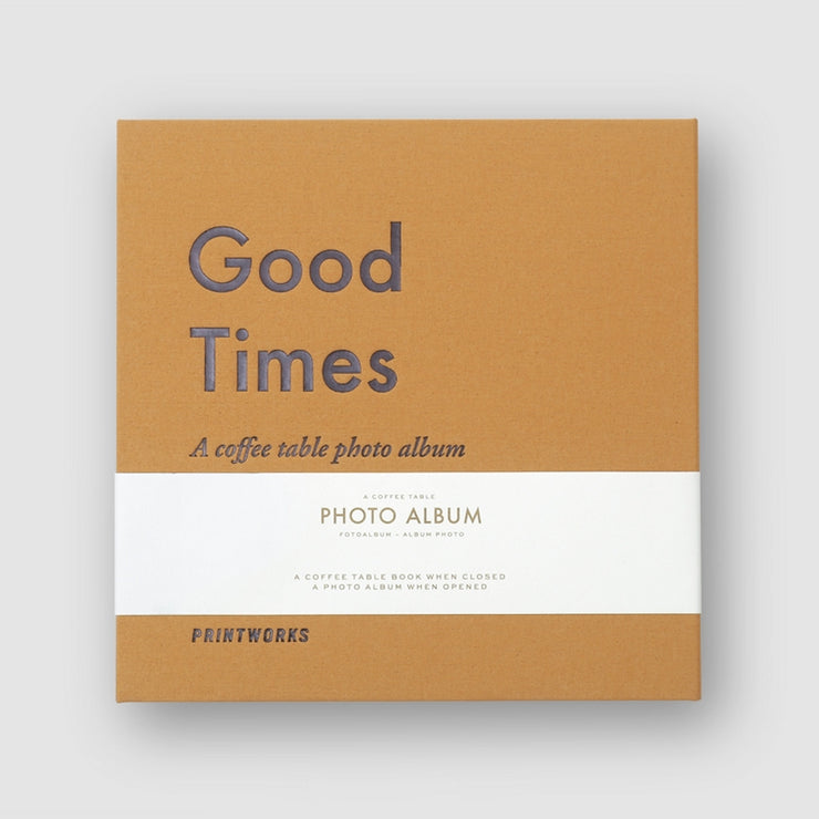 PRINTWORKS - Coffee table photo album - Good Times small