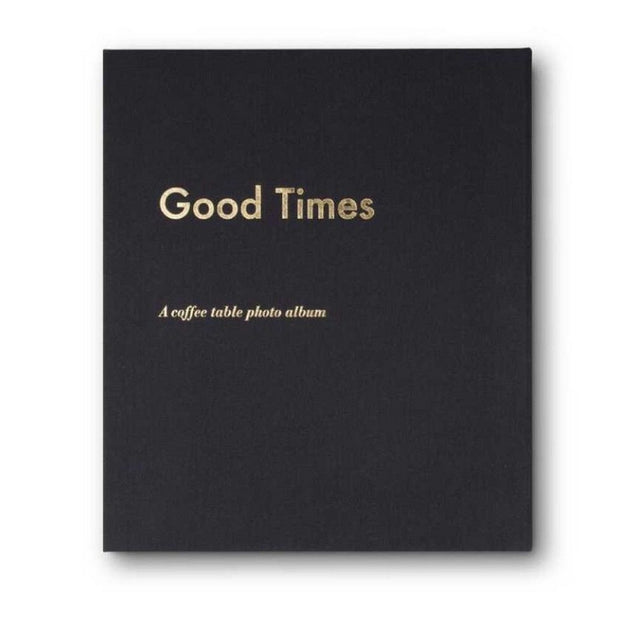 PRINTWORKS - Coffee table photo album - Good times black