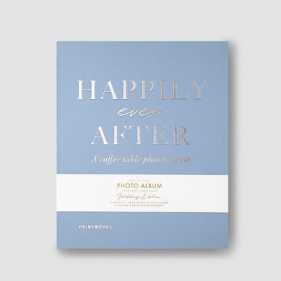 PRINTWORKS - Coffee table photo album - Happily ever after