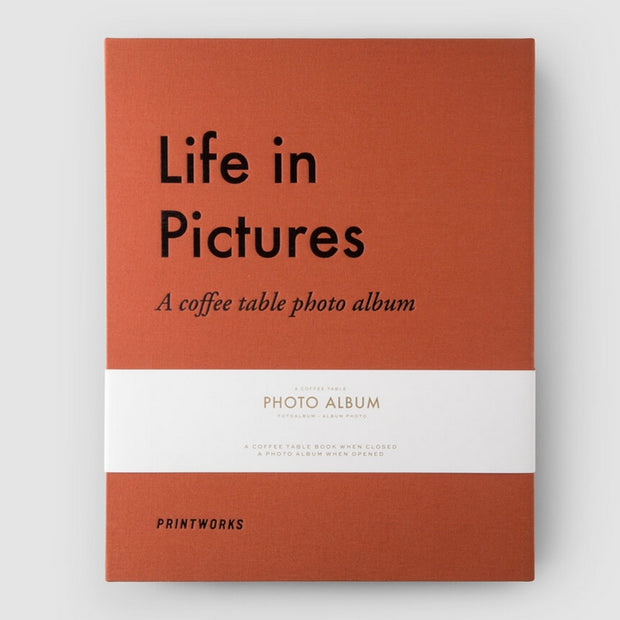 PRINTWORKS - Coffee table photo album - Life in Pictures