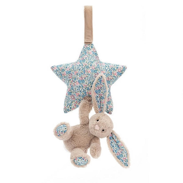 Jellycat musical toy rabbit and star