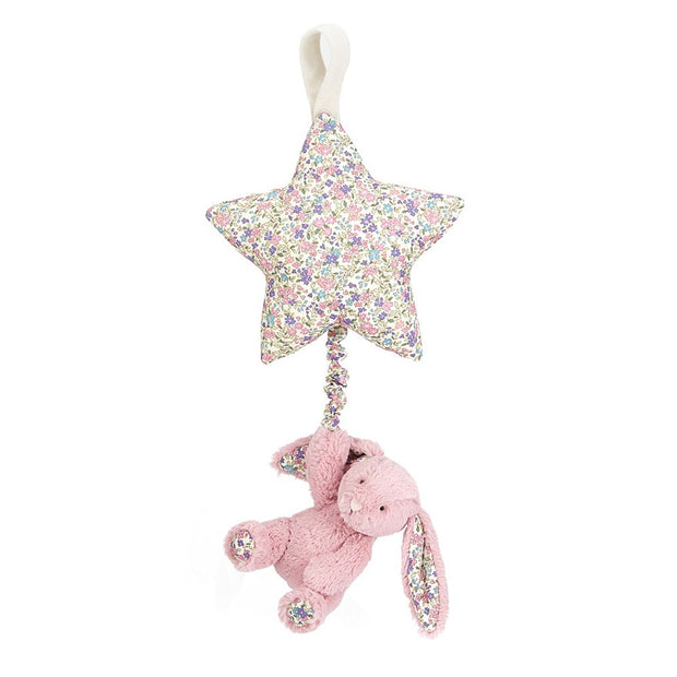 pink musical rabbit toy - Jellycat