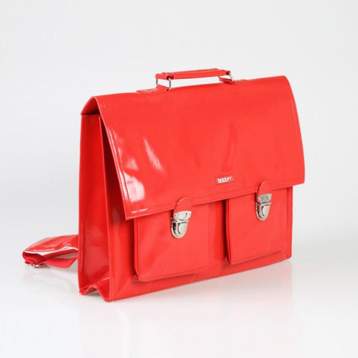 Red childrens satchel - BAKKER MADE WITH LOVE