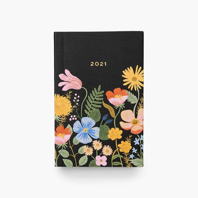 RIFLE PAPER CO - 2021 pocket planner - Strawberry Fields