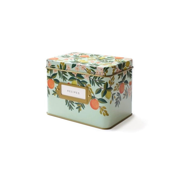 RIFLE PAPER CO - Vintage recipe box - Floral