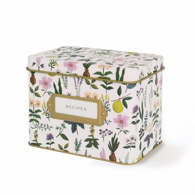 RIFLE PAPER CO - Vintage recipe box - Herb Garden