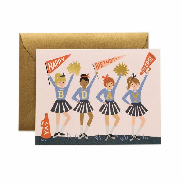 RIFLE PAPER CO - Birthday card - Birthday cheers