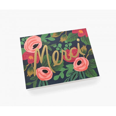 Greeting card - Merci Rosa