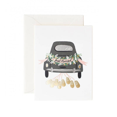 RIFLE PAPER CO - Wedding card - Just married
