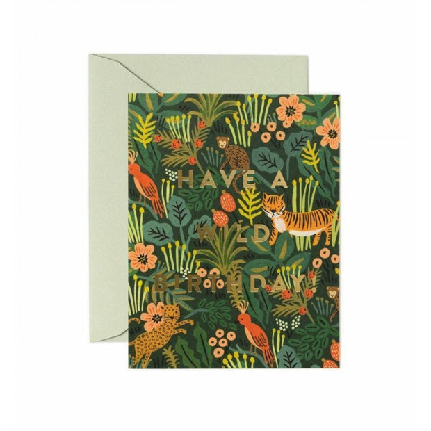 RIFLE PAPER CO - Birthday card - Wild birthday