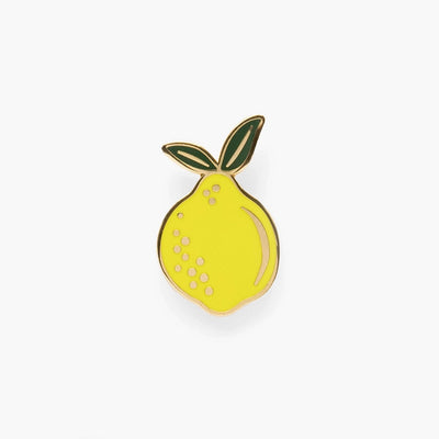 RIFLE PAPER CO - Lemon enamel pin