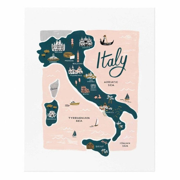RIFLE PAPER CO - Italy poster