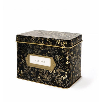 RIFLE PAPER CO - Vintage recipe box - Queen Anne