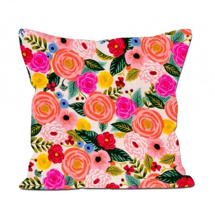 RIFLE PAPER CO - Square cushion - Juliet Rose