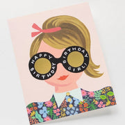 RIFLE PAPER CO - Birthday card - Meadow girl - Details