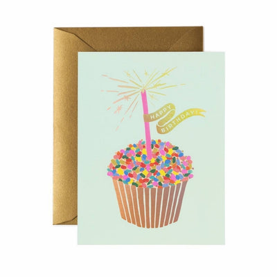 RIFLE PAPER CO - Birthday card - Cupcake Birthday
