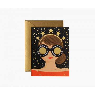 RIFLE PAPER CO - New Year card - New Year girl