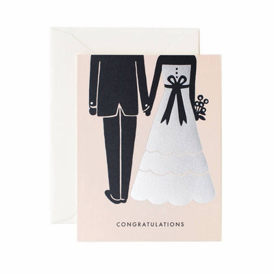 RIFLE PAPER CO - Congrats wedding card
