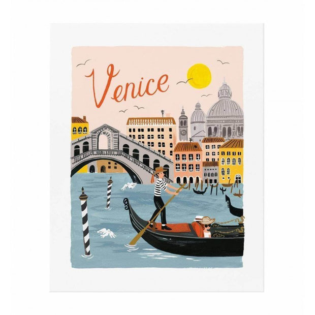 RIFLE PAPER CO - Venice poster