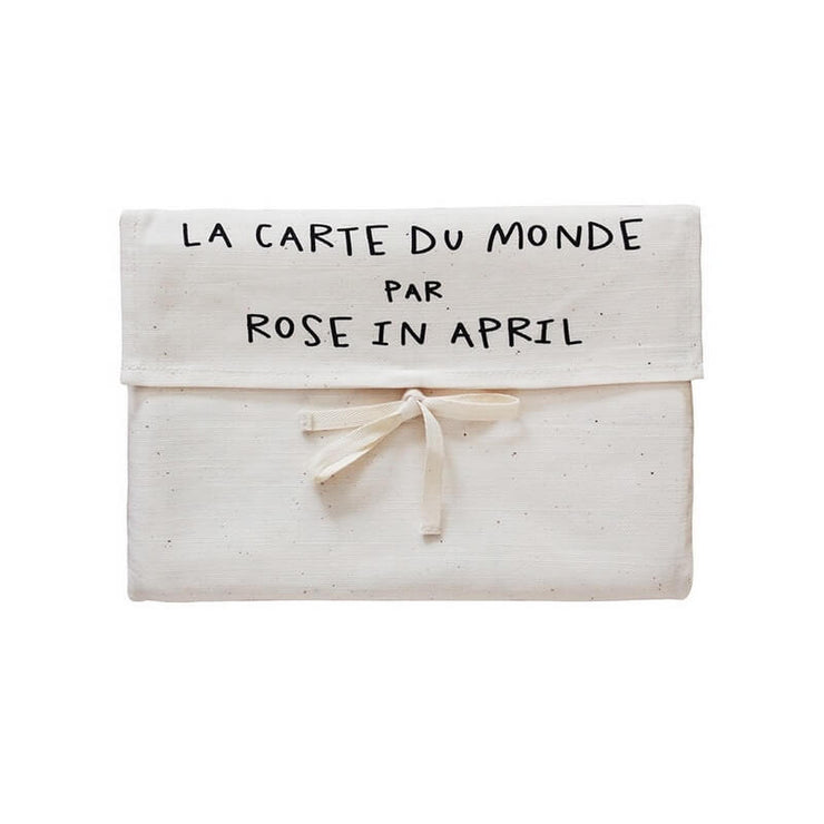 ROSE IN APRIL - Canva world map - French version - Closed