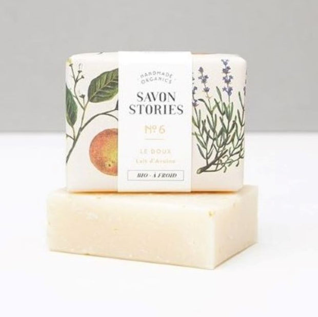 SAVON STORIES - solid soap - soft n°6