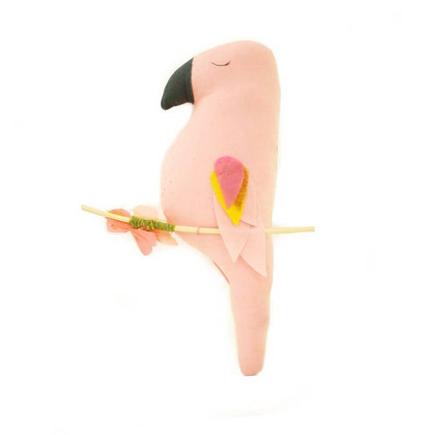SCALAE - Poetic handmade mobile - Ernesto the parrot