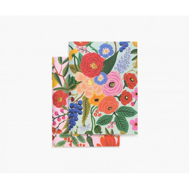 RIFLE PAPER CO - Set of 2 notebooks - Garden Party