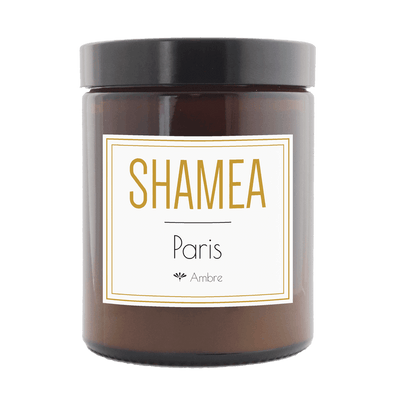 Paris scented candle - Amber