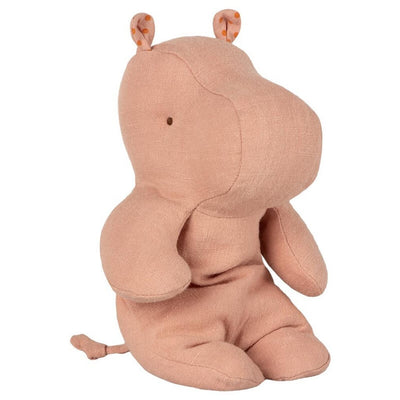 Hippo soft toy - Dusty rose