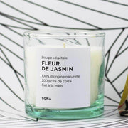 Natural candle - Jasmine flower