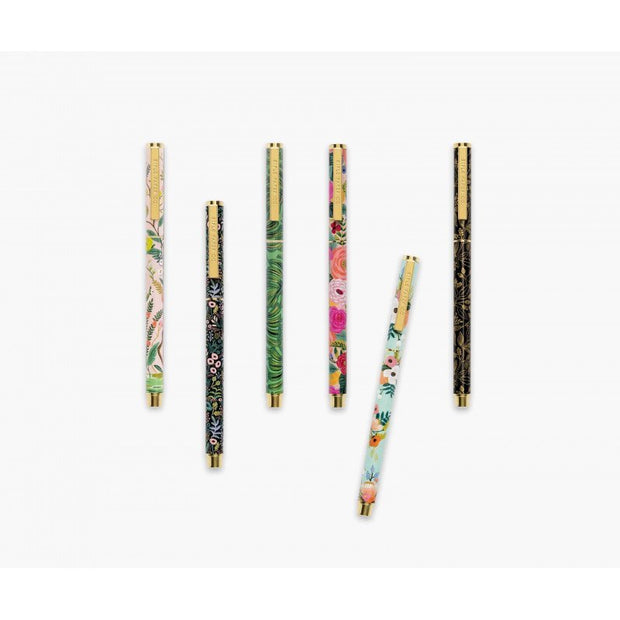 Refillable pen - Lively Floral