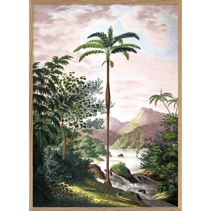 THE DYBDAHL CO - Jungle scenery A1 poster
