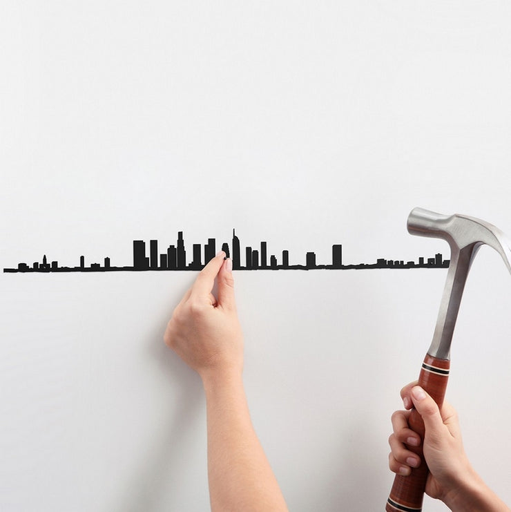 THE LINE - Original wall decoration - Los Angeles skyline