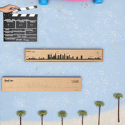THE LINE - Los Angeles skyline in black steel - Original wall decoration