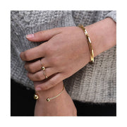 TITLEE - Soho jewels in golden brass - Made in France