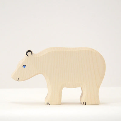 Handmade Wooden Polar bear