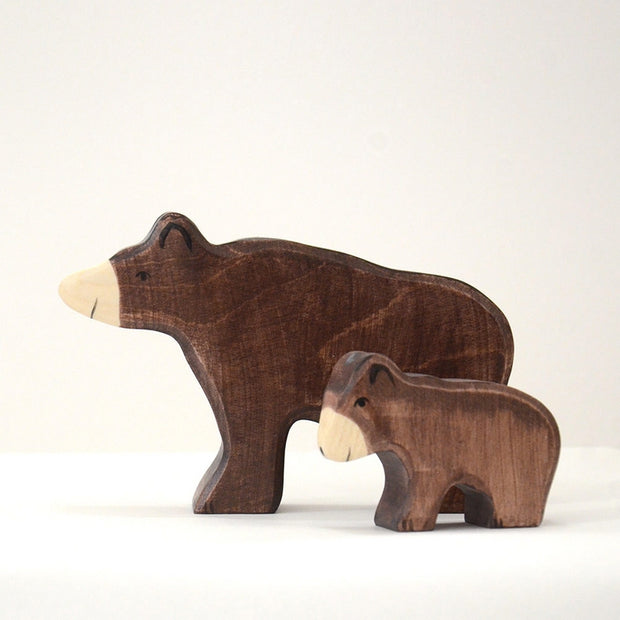Handmade Wooden Brown bear
