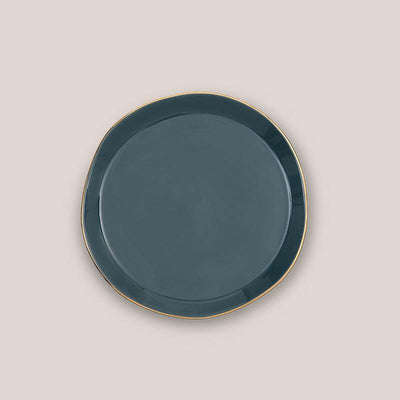 Small plate - Blue green