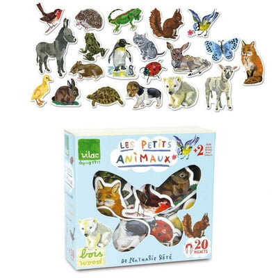 Vilac - wooden magnets animals